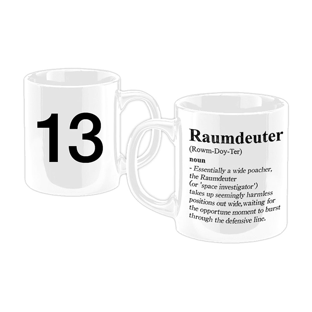 Football Manager - Raumdeuter White Mug