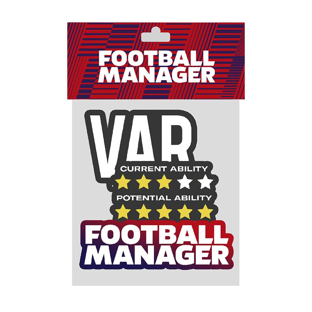 Football Manager - Various Sticker Pack