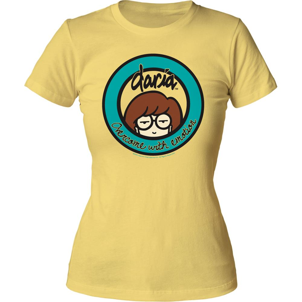 Daria - Overcome With Emotion (Women's) (Yellow)