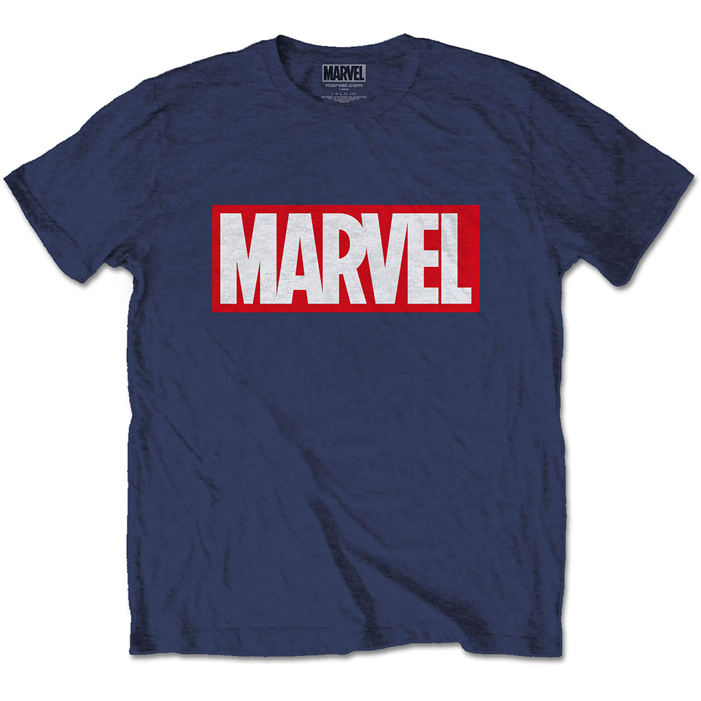 Marvel Comics - Marvel Box Logo (Blue)