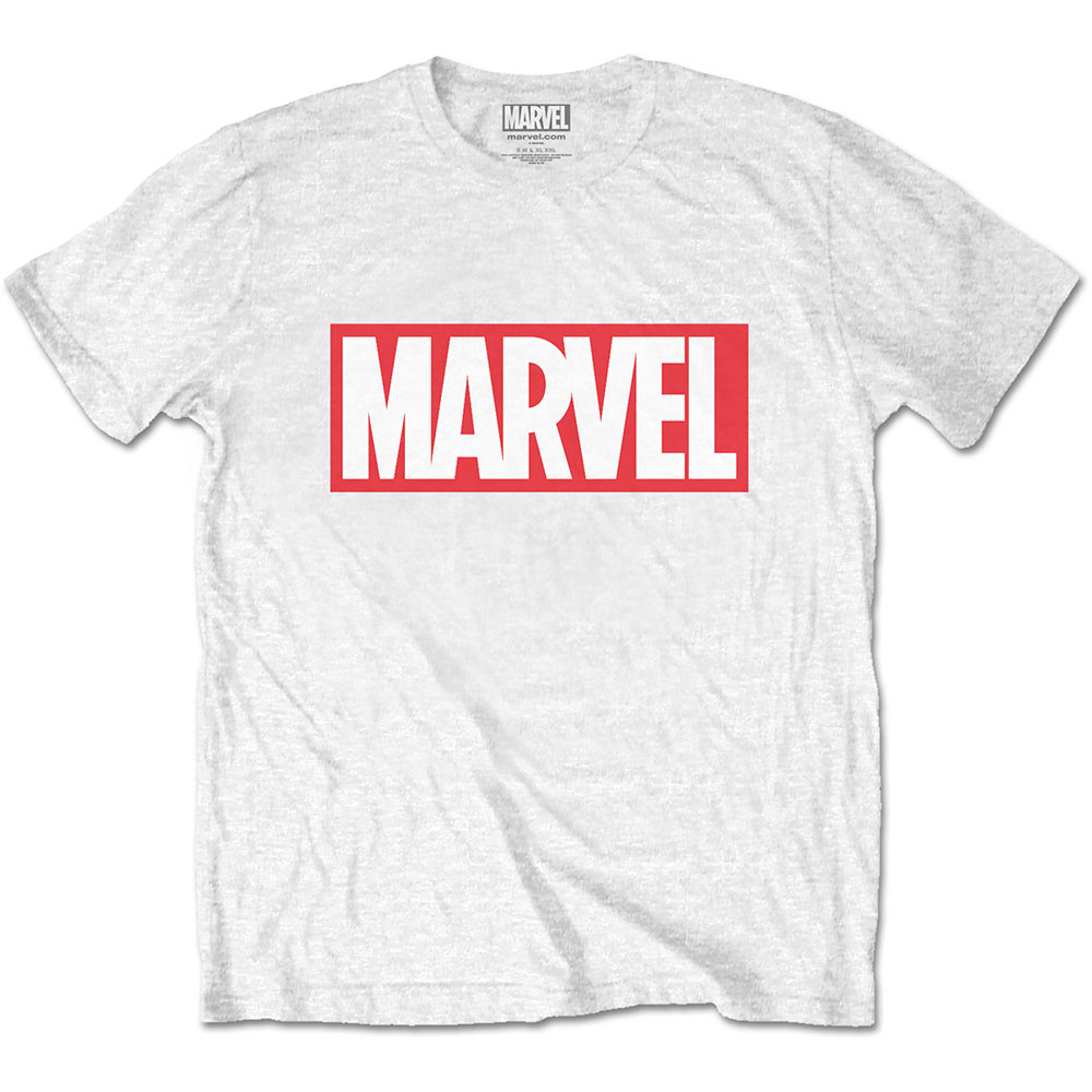 Marvel Comics - Marvel Box Logo (White)
