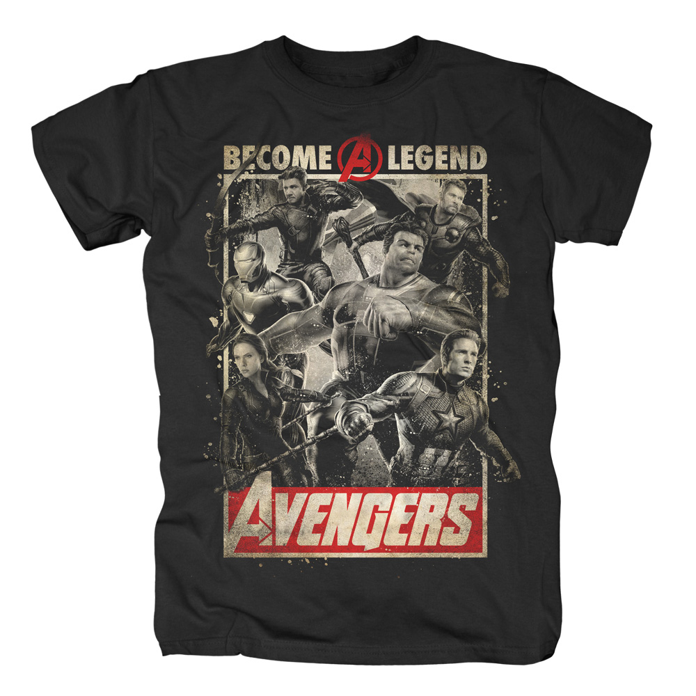 Marvel Comics - Avengers - Become A Legend