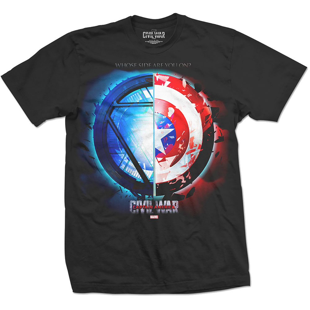 Marvel Comics - Captain America Civil War Whose Side?