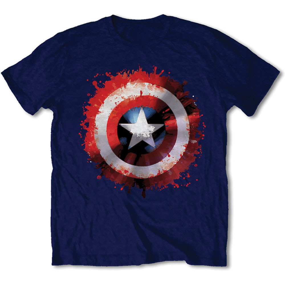 Marvel Comics - Captain America Splat Shield (Blue)