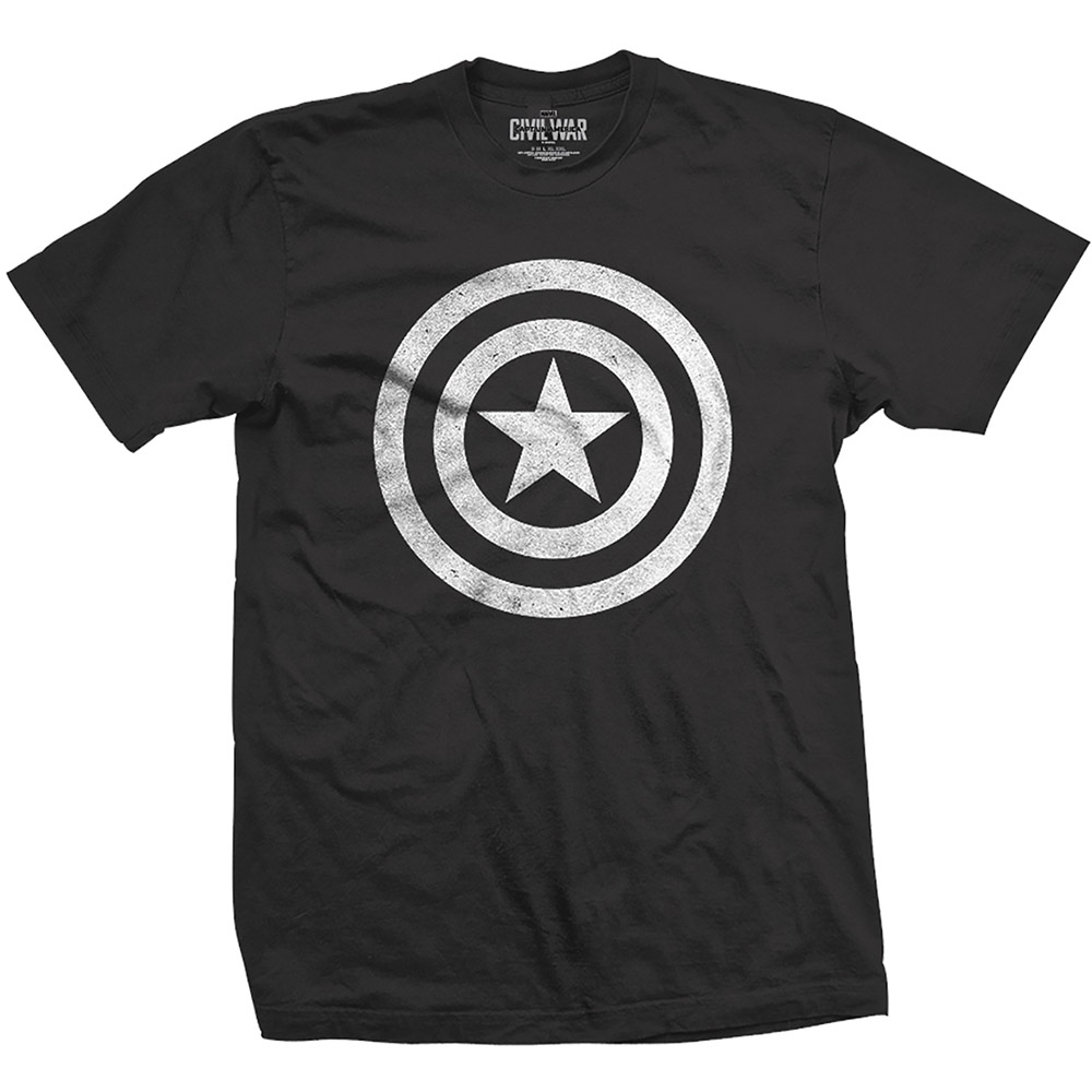 Marvel Comics - Captain America Civil War Basic Shield Distressed