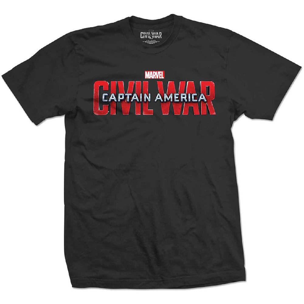 Marvel Comics - Captain America Civil War Movie Logo