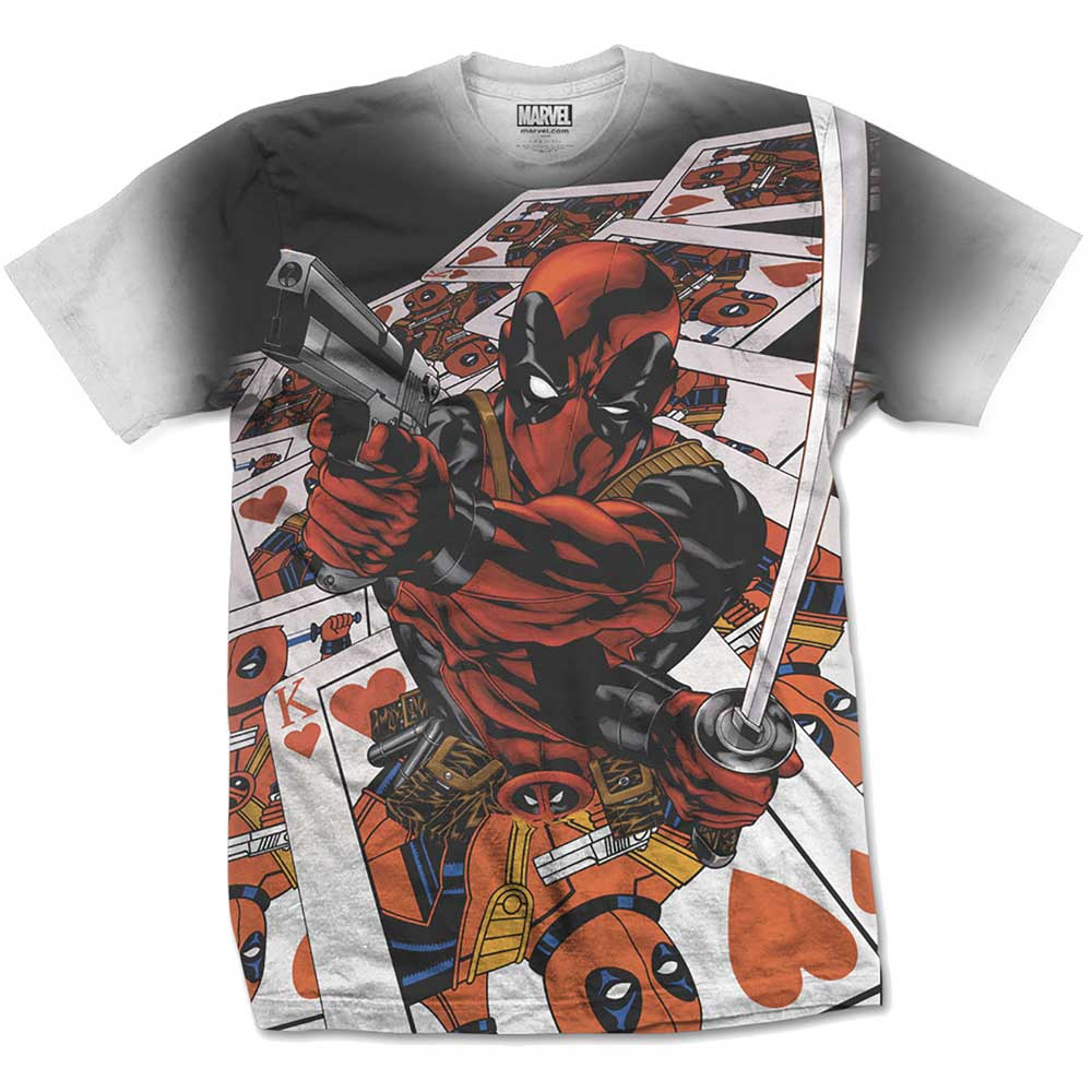 Marvel Comics - Deadpool Cards (Sublimation Print)