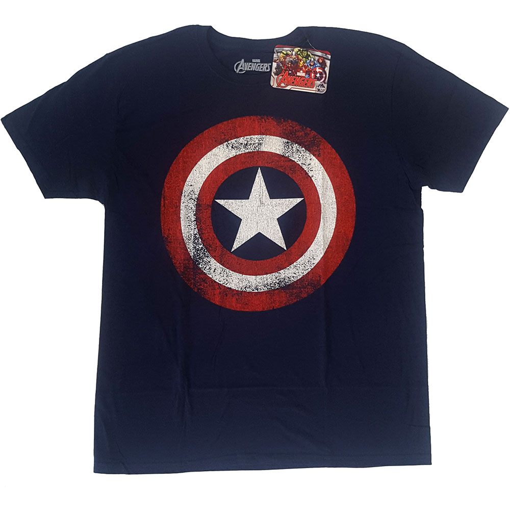 Marvel Comics - Captain America Distressed Shield