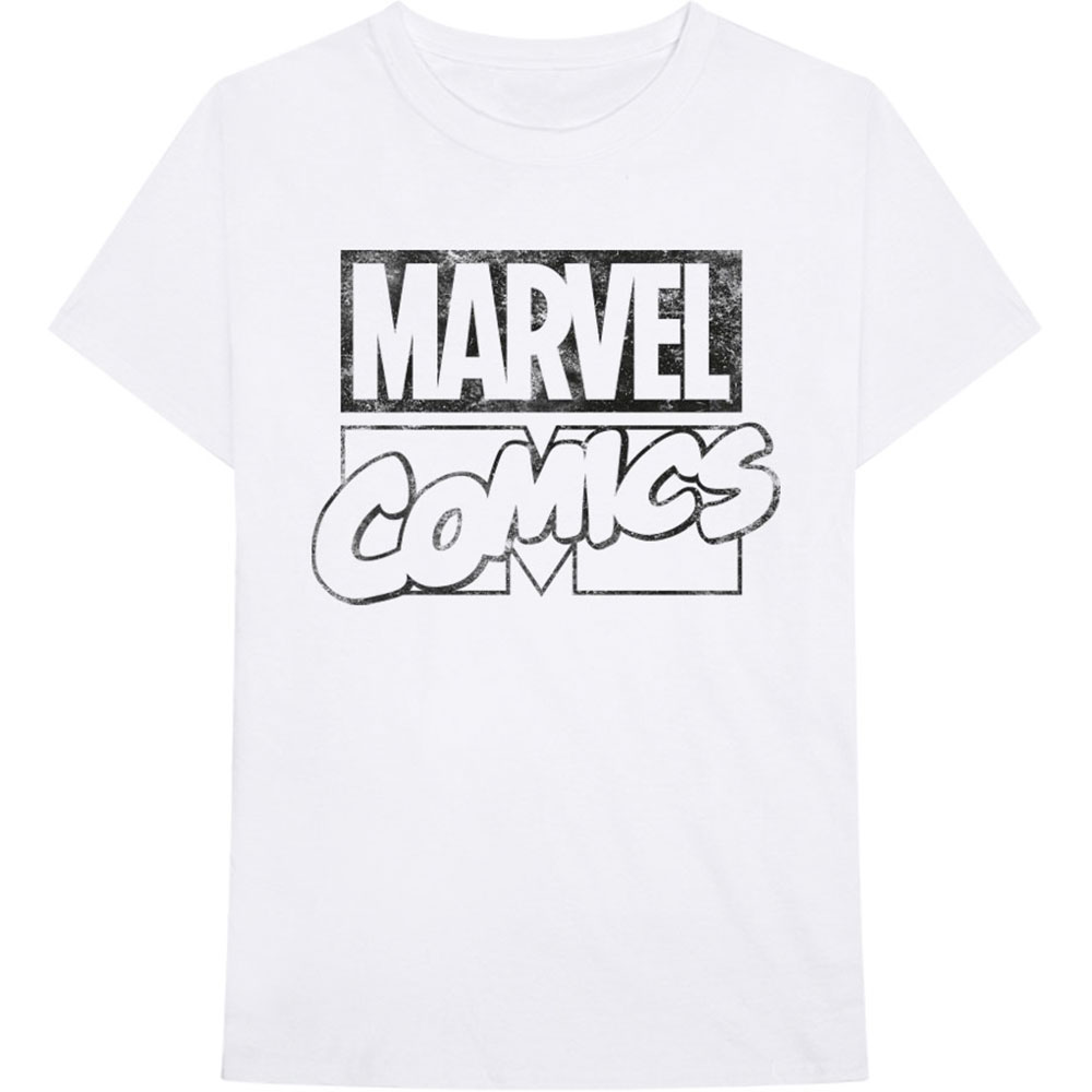 Marvel Comics - Logo White