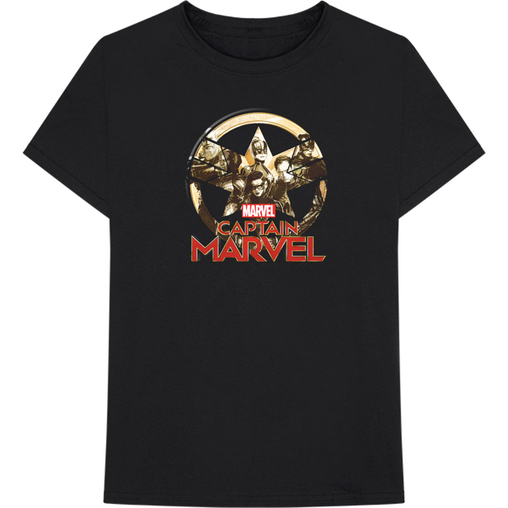 Marvel Comics - Captain Marvel Star Logo
