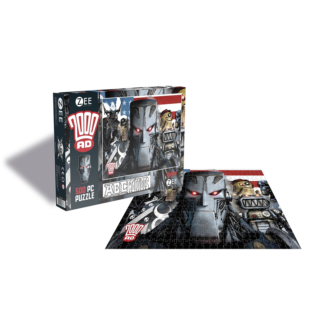 2000AD - ABC Warriors (500 Piece Jigsaw Puzzle)