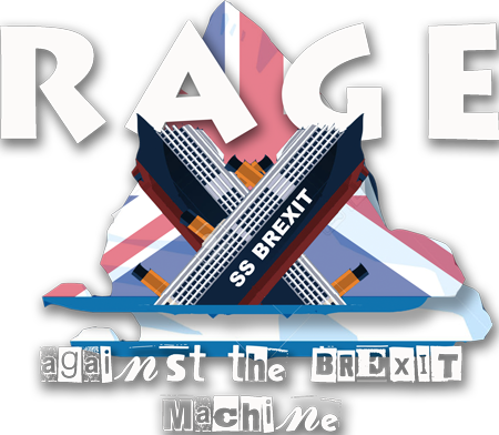 Rage Against The Brexit Machine logo