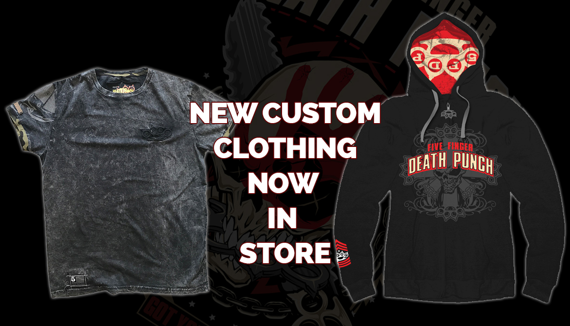 Five finger death punch clothing store